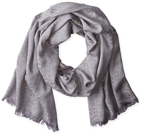 Calvin Klein Pashmina-Schal für Damen - Grau - Einheitsgröße