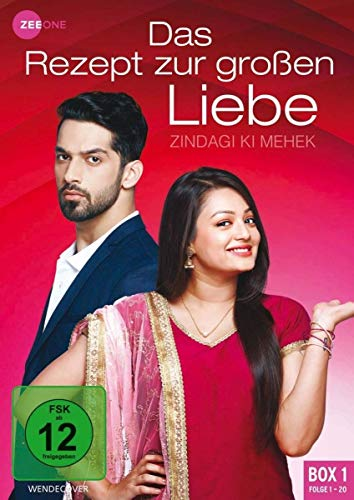 Das Rezept zur großen Liebe - Zindagi Ki Mehek (Box 1, Folge 1-20) [3 DVDs]