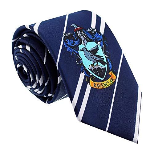 BazarPRO Cravatta della casata Corvoner - Ispirato all'universo di Harry Potter