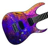 DesignDivil Custom Guitar Skin Vinyl Wrap Laminated Air Lease Print Decal. Purple Haze GS12