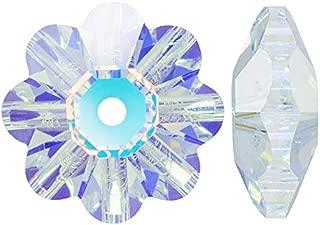 SWAROVSKI ELEMENTS Crystal Margarita Beads #3700 6mm Crystal AB (12)