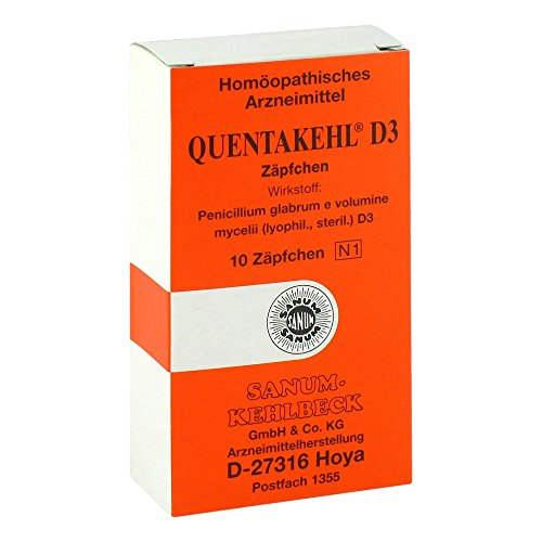 QUENTAKEHL D 3 Suppositorien 10 St
