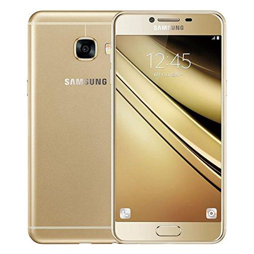 Samsung Galaxy C7 C7000 64GB Gold, Dual Sim, 5.7', GSM Unlocked International Model, No Warranty
