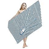 Ausion Microfiber Beach Towel (59 x 30 inch) for Travel,...
