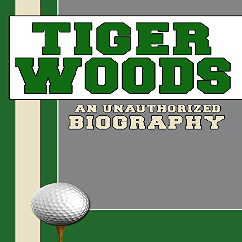 Tiger Woods audiobook cover art