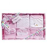 Mini Berry 13 Piece Unisex Baby's Gift Set (Pink)