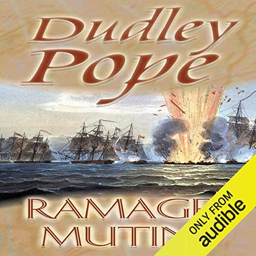 Ramage's Mutiny audiobook cover art