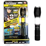 Bell + Howell TACLIGHT PRO Lantern+Flashlight in-1 with Zoom, Magnetic Base As Seen
