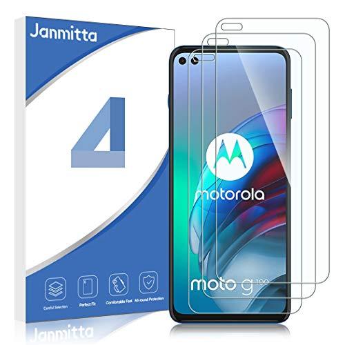 Janmitta für Motorola Moto G 5G Plus/Motorola Moto g100 Panzerglas Schutzfolie [3-Stück], 2.5D Panzerfolie 9H Gehärtetem Glass [Anti-Kratzen][Anti-Bläschen] HD Displayschutzfolie