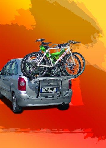 Fabbri Bicicleta Aceptar 3 6201811 Van PORTABICICLETAS Trasero para 3 Autos MPV