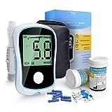 Fbestxie Glucómetro Medical Diabetes, Prueba De Glucosa Equipo Médico Profesional para El Hogar Modelo De Medidor De Glucosa En Sangre