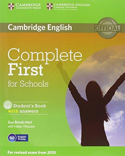 Complete first certificate for schools. Student's book-Workbook with answers. Per le Scuole superiori e CD-ROM. Con CD Audio. Con espansione online