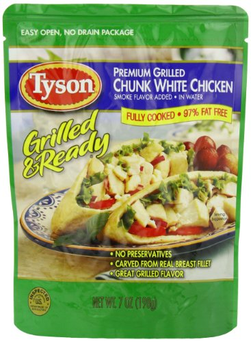 Tyson Premium Grilled Chunk White Chicken, 7 Ounce