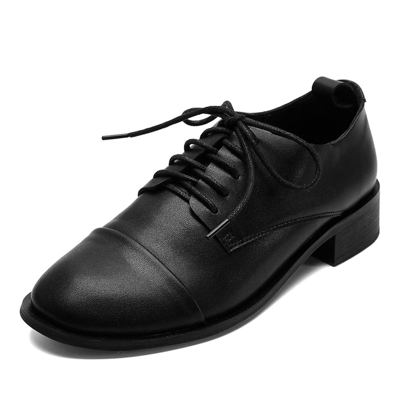 フラットシューズ オックスフォードシューズ スクエアトゥ カレッジ風 パンプス ローヒール 革靴 学生用 フォーマル 歩きやすい 靴 マタニティ 敬老の日 お年寄り学生用 コンフォートくつ