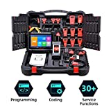 Autel Scanner MK908P (Maxisys Pro), Automotive Diagnostic Scan Tool, Same as Maxisys Elite, MS908P, Ideal to do J2534 ECU Programming, ECU Coding with Another Advanced 30+ Service Functions