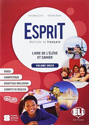 Esprit. Per la Scuola media. Con e-book. Con espansione online. Con 2 libri: Mini dictionnaire illustre-Examen et certifications. Con CD-Audio [Lingua francese]