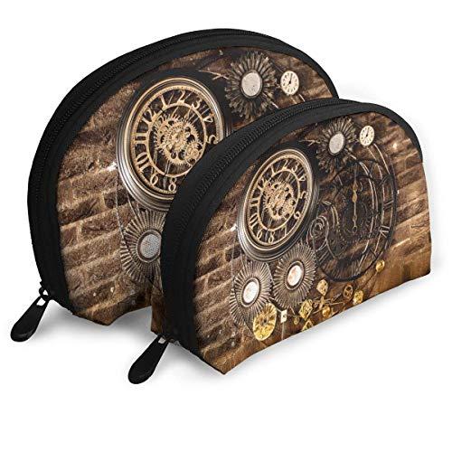 JUKIL Reloj de Pared Vintage Bolsas portátiles Bolsa de Embrague Bolsa de...