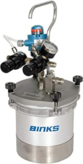 Binks Pressure Spray Gun Cup, 2 qt. - 80-651