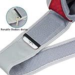 PETEMOO Pet Sling Carrier Bag, Hand-Free Dog Cat Outdoor Travel Shoulder Bag with Adjustable Strap& Zipper 9