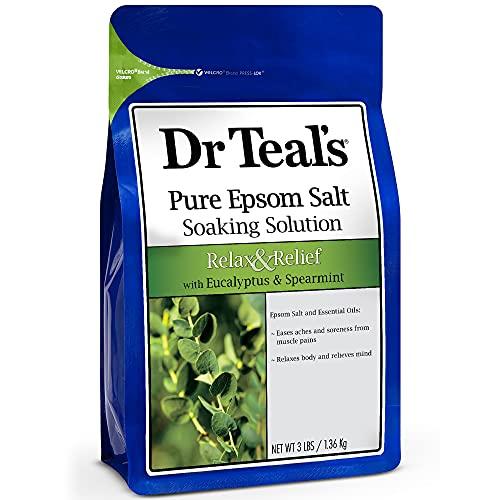Dr Teal's(ティールズ) フレグランスエプソムソルト ユーカリ&スペア 入浴剤 1360g ユーカリ&スペアミント