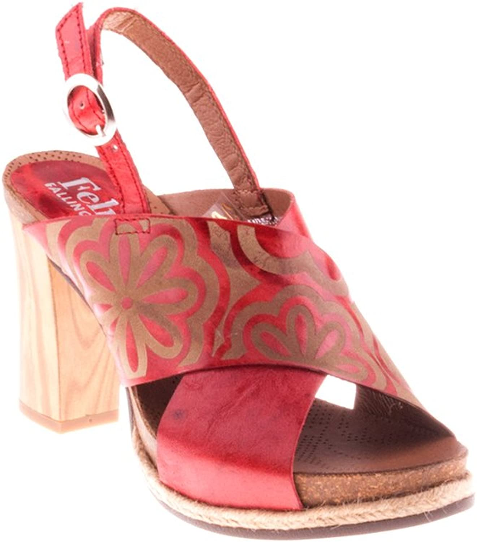 Felmini Damen Schuhe - Verlieben Serena B190 - Hohe Fersen Schuhe - Echtes Leder - Mehrfarbig