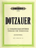 113 Violoncello-Etueden - Heft 1: Nr. 1 -34