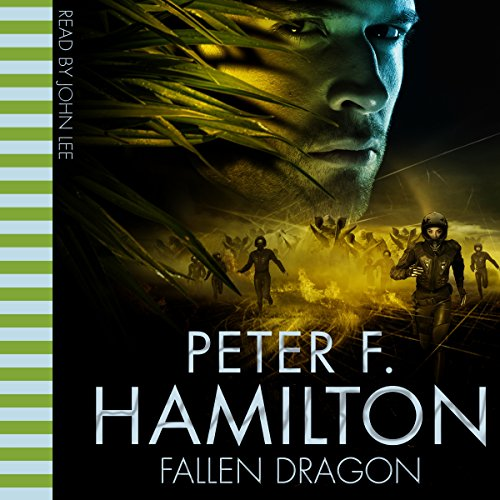 Fallen Dragon audiobook cover art