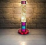The Glowhouse Brillo del arco iris lámpara de lava