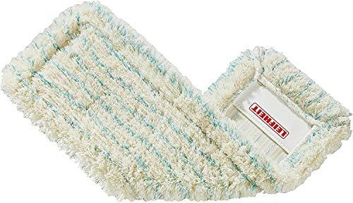 Leifheit Wischbezug Profi cotton plus aus Baumwoll- & Suprafasern, saugfähiger Bodenwischer Ersatzbezug, Wischer Ersatzbezug für Steinböden & Fliesen