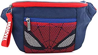 MARVEL Spider Man Face HipSack Waist Pack Fanny with Mesh Pocket