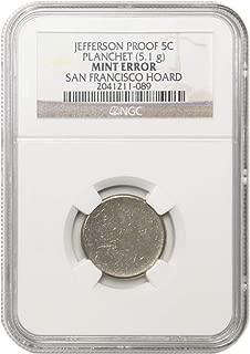 1938 nickel error
