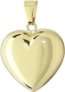 41538a88252b Amazon.es: Colgante Corazon - Oro amarillo: Joyería