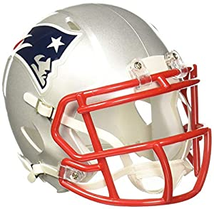 Riddell NFL New England Patriots Speed Mini Football Helmet