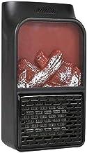 JYDQT Mini Calentador, Protección, Enchufe de Pared Ventilador Oficina for el Calentador y el Uso en el hogar portátil con termostato Ajustable