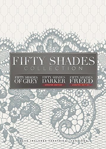 Fifty Shades of Grey/Fifty Shades Darker/Fifty Shades Freed: Movie Collection Trilogy DVD