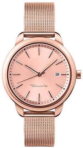 Tamaris Damen-Armbanduhr Valerie Analog Quarz Edelstahl B09272020