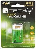 Techly 307032 Blister 1 Batteria High Power Alcalina 6LR61 9V
