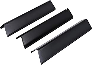 AIEVE Flavorizer Bars, 3 Pack Porcelain-Enameled Flavorizer Bars Replacement for Weber 7635 Spirit 200 Series Gas Grill Accessories (Black, 15.3 x 4 x 3.5)