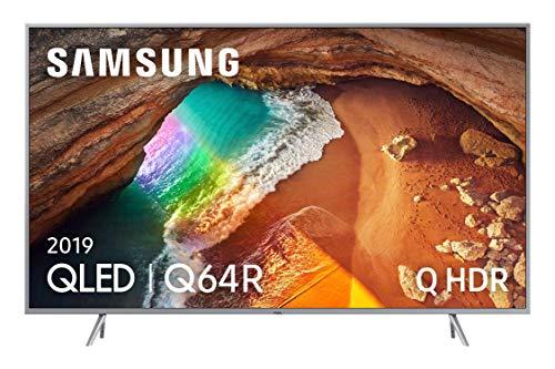 TV QLED 4K 163 cm Samsung QE65Q64R - Téléviseur QLED 65 Pouces - TV Connectée : Smart TV - Netflix - Tuner TNT/Câble/Satellite