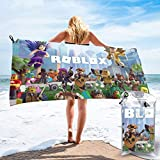 Ro-Blox Bath Towels Cool Microfiber Super Soft Lightweight, Absorbent, Premium Quality Perfect for Daily Use, and Gym and Sports Travel Towel 27.5'X55'