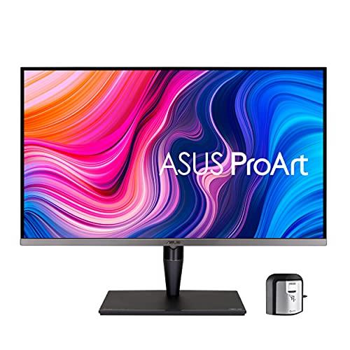 "ASUS ProArt Display 32"" 4K HDR Professional Monitor (PA32UCG-K) - UHD (3840 x 2160), Mini-LED IPS, Dolby Vision, 1600nits, 120Hz, 10-bit, 98% DCI-P3, Calman Ready, Thunderbolt 3, HDMI2.1, w/Calibrator"