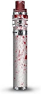Skin Decal Vinyl Wrap for Smok Stick Prince Kit TFV12 Prince Vape Kit Skins Stickers Cover/Blood Splatter Dexter
