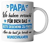 vanVerden Tasse - Papa Wir haben versucht für dich das