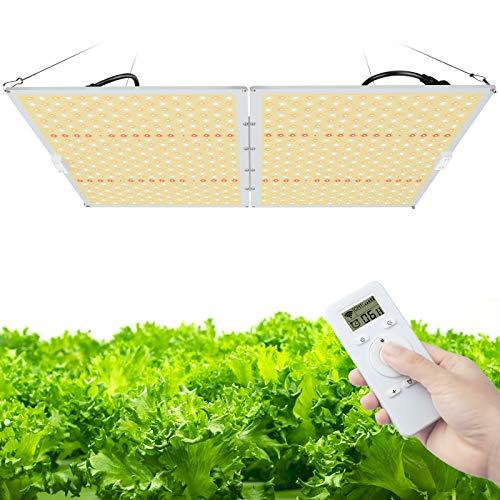 Relassy LED Pflanzenlampe, LED Grow Lampe R2000 Pflanzenlicht Vollspektrum Dimmbare mit Timing-Funktion, Fernbedienung Grow Light mit 832 LEDs für Zimmerpflanzen Gewächshaus Hydroponic