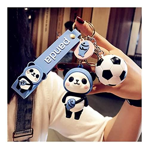 AO HAI Llaveros Lindo Panda llaveros Llavero Llavero China Tesoro Nacional Panda Panda Party Favors Favores Colgante para el Juguete del niño Ornamento Regalo de Souvenirs Llavero Lindo