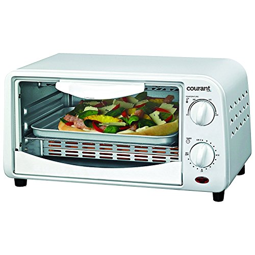 Countertop Toaster Oven Color: White