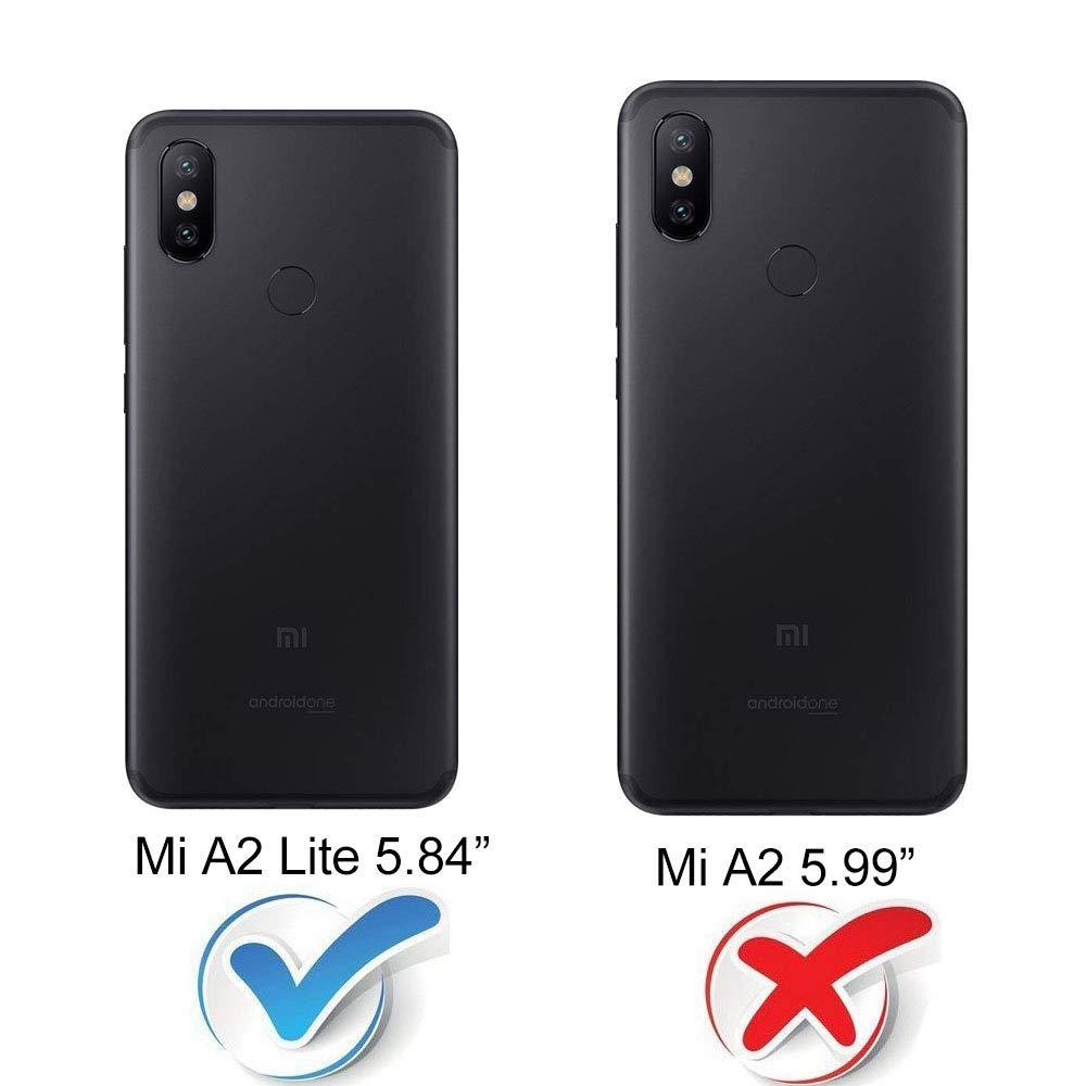Funda Xiaomi Mi A2 Lite Silicona Transparente, Ultrafina Suave TPU ...