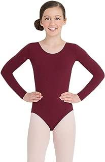 Capezio Girls' Team Basics Long Sleeve Leotard