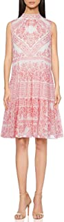 Calvin Klein Women's Mock Dress with Back Neck Tie