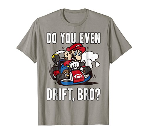 Nintendo Mario Kart Do You Even Drift Bro Graphic T-Shirt T-Shirt